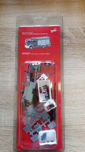 Herpa Minikit 012898-1//87 Man M2000 Löschfahrzeug Hlf 20 Neu Feuerwehr