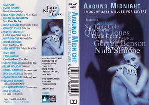 SMOOCH-JAZZ-amp-BLUES-FOR-LOVERS-Around-Midnight-Cassette-Tape-SirH70
