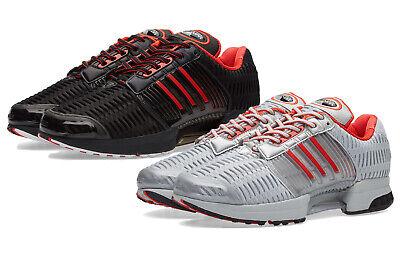 barba Lágrima Siesta  Mens Adidas Originals Climacool 1 Coca Cola Trainer Shoes Black Red Silver  White | eBay