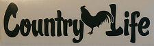 Country Life Pollo calcomanía / etiqueta adhesiva, poultry/farming