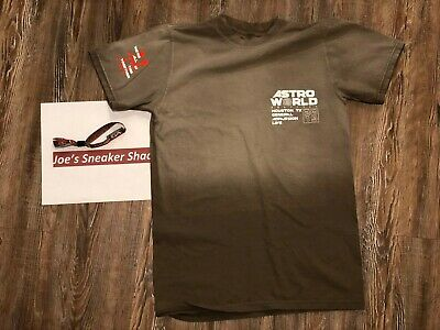 Travis Scott Cactus Jack Astroworld Festival 2019 Merch Official Souvenir Brown Ebay