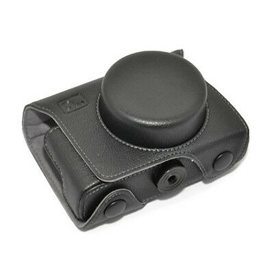 JJC OC-MX1 Leather Camera Case for PENTAX MX-1 compact tailored two parts MX1