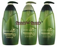 Somang Eco Aloe Vera Hair Shampoo, Conditioner & Treatment (danahan) (rosee)