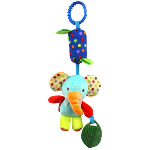 Baby Rattles Toy Crib Bed Car Hanging Ring Bell Infant Early Educational Doll