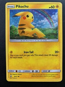 2019-Pokemon-General-Mills-Cereal-Promo-Card-28-73-Pikachu-Foil-Holo