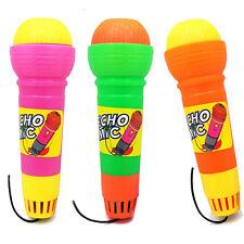Mikrofon Mikrophone für Kinder Spielzeug Echo Geräusche Echomikrofon Musical Neu