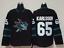 Erik-Karlsson-San-Jose-Sharks-65-stitched-jersey-men-039-s-player-game thumbnail 1