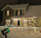 Red & Green Laser Light Show Halloween Outdoor Star Christmas Lights Projector