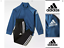 adidas-Boys-Tracksuit-Junior-Kids-Infant-Blue-Black-Top-Bottoms-Suit-Age-5-6-7-8