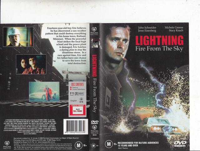 Lightning:Fire From The Sky-2001-John  Schneider-Movie-DVD