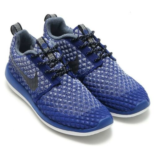 Bnwb Nike Roshe Taille Baskets Uk Blue Deep Femmes Flyknit 4 Royal Couleur Two 5 AqOnf5