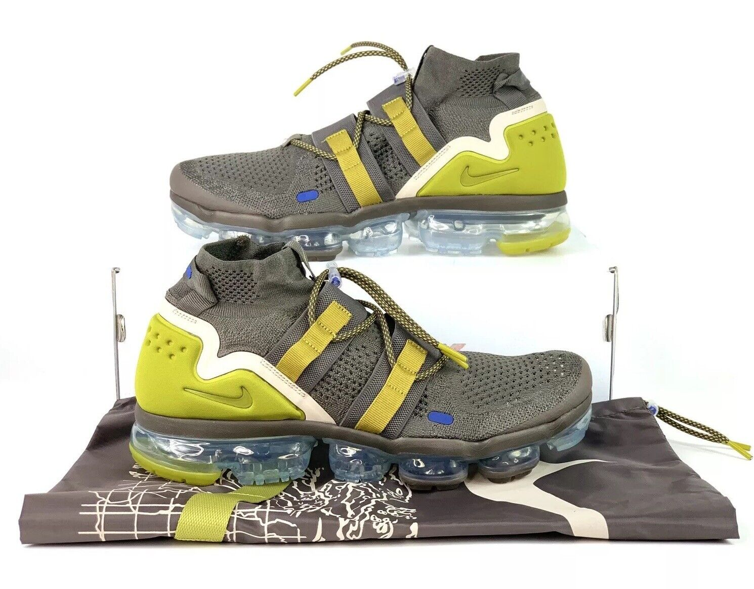 sports shoes 3c61b a3fba ... Nike Air VaporMax VaporMax VaporMax Flyknit Utility Ridgerock Peat Moss  AH6834-200 Sz 11.5 ac3a64 ...