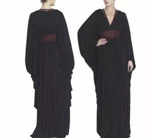 0a2735eadebb Image is loading Evening-Gown-Maxi-Dress-Abaya-Alexander-McQueen-Designer-