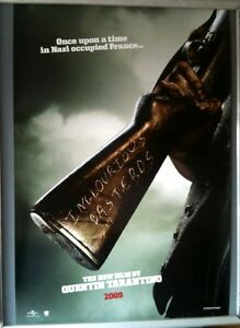 Cinema-Poster-INGLOURIOUS-BASTERDS-2009-Rifle-One-Sheet-Quentin-Tarantino