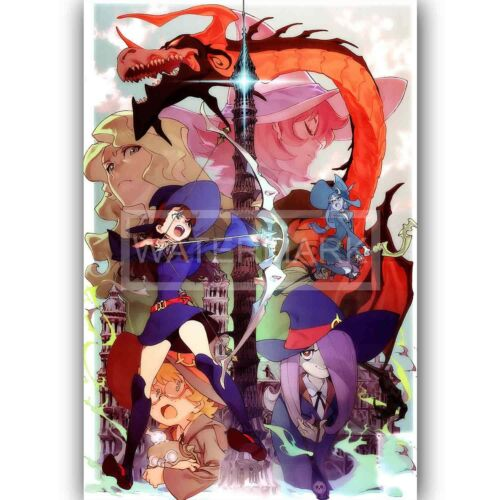 Custom Silk Poster Little Witch Academia Wall Decor