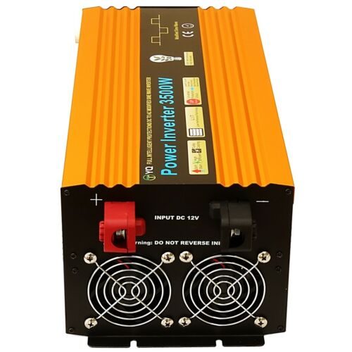 1000W//2000W//3000W//3500W DC12V-AC240V POWER INVERTERS SOFT START UK SOCKETS