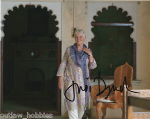 Judi-Dench-Autographed-Signed-8x10-Photo-COA