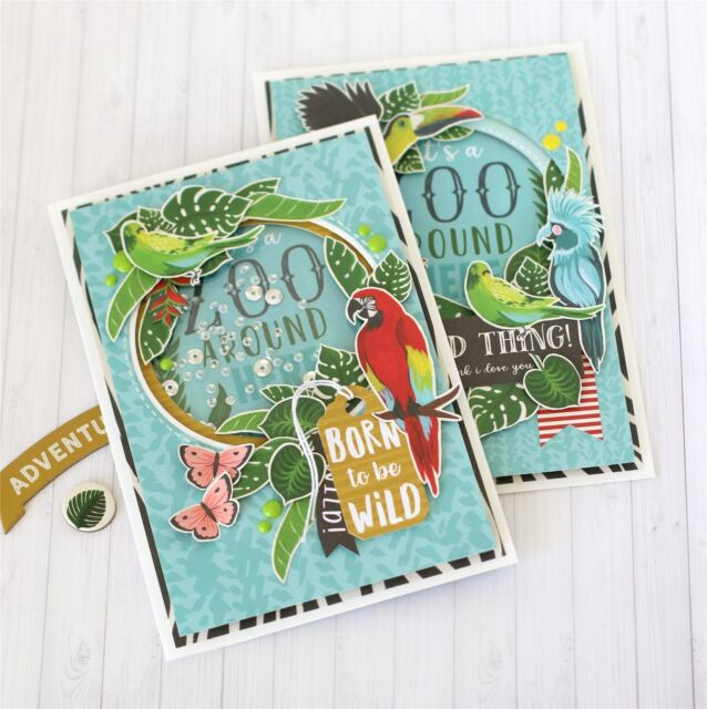 "Safari Animale-OO167016 ECHO Park Collection KIT 12/""X12/"""