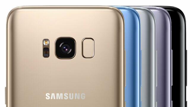 Neu Ungeöffnet Samsung S8 G950 SMARTPHONE/Korallenblau/64GB