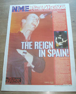 RADIOHEAD  GIG REVIEW  BARCELONA ORIGINAL VINTAGE  magazine advert POSTER 1997 - <span itemprop=availableAtOrFrom>Harlow, United Kingdom</span> - RADIOHEAD  GIG REVIEW  BARCELONA ORIGINAL VINTAGE  magazine advert POSTER 1997 - Harlow, United Kingdom