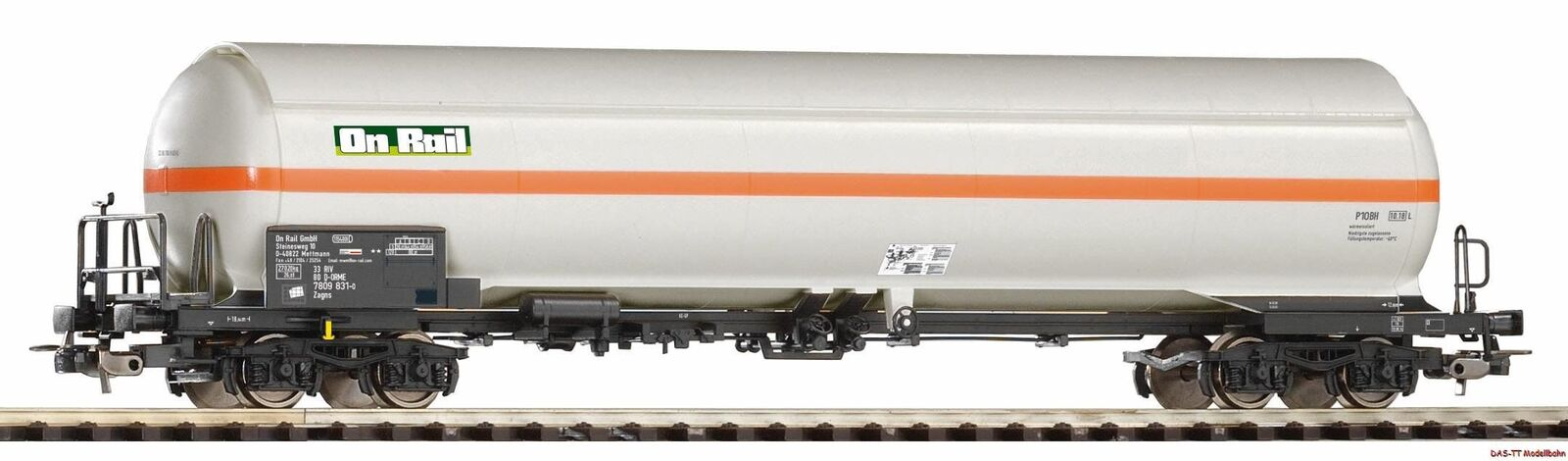 H0 druckgaskesselwagen onrail con techo EP. vi Piko 54669