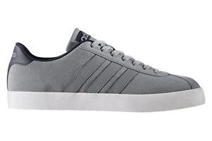 ADIDAS Court Vulc GREY bb9640 NEO Sneaker Scarpe Sportive NUOVO