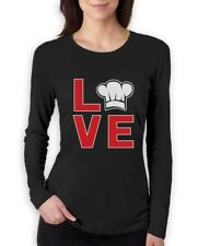 Chef Hat Print Gift for Cooks Hoodie Funny I Love Cooking