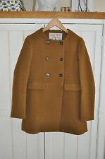 JACK WILLS 'Buttermere' Mustard Camel Wool Coat, UK 12, BNWT RRP £249