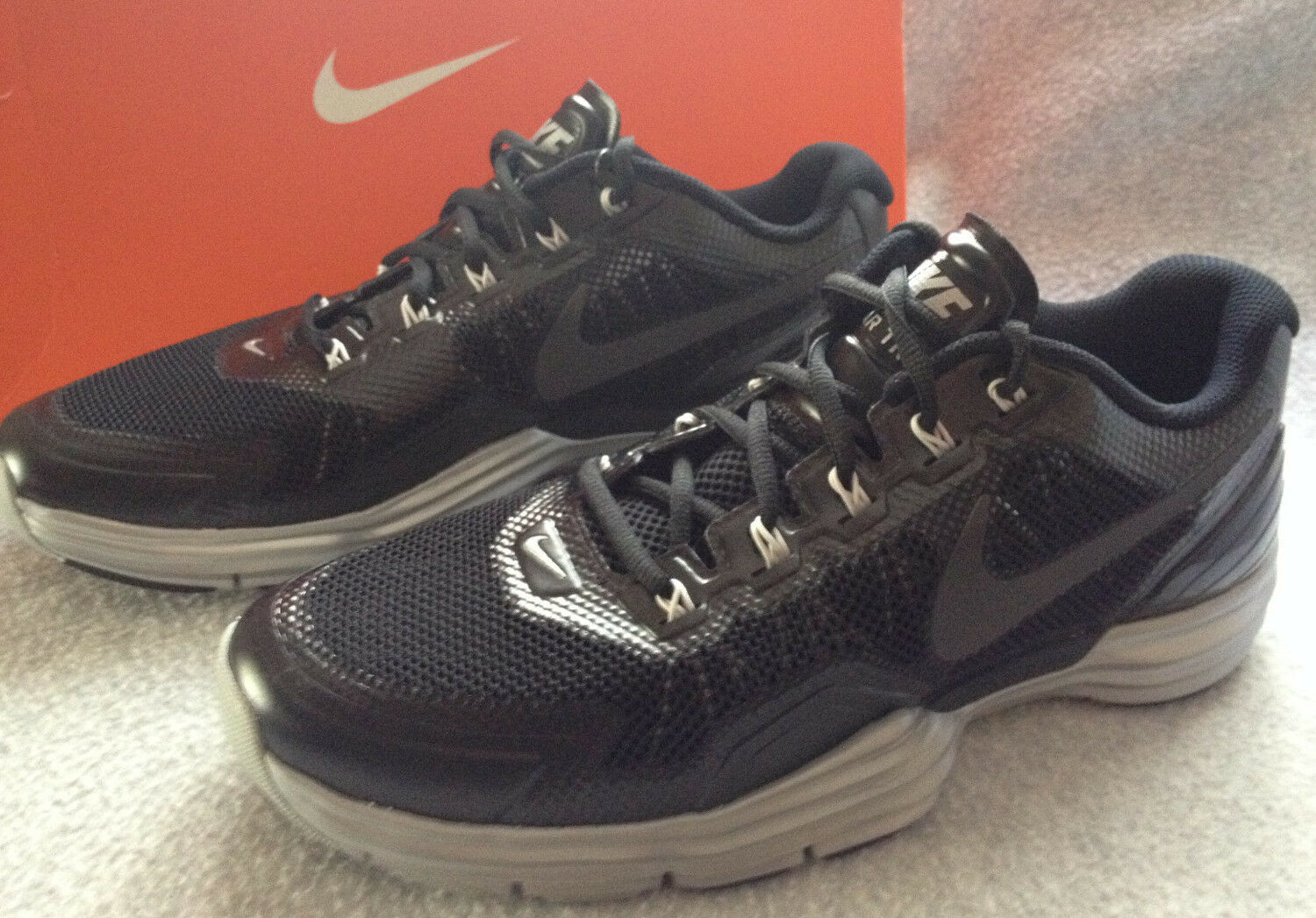 Nike Lunar TR1 529169-001 Chaussures Noir Training Running CrossFit Chaussures 529169-001  Hommes 9 Run new 07fdf9