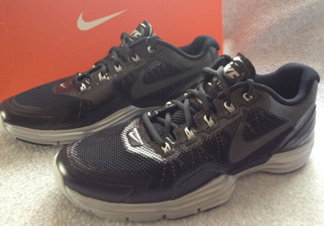 0f560353a Nike Lunar TR1 529169-001 Black Training Running CrossFit Shoes Men s 9.5  new