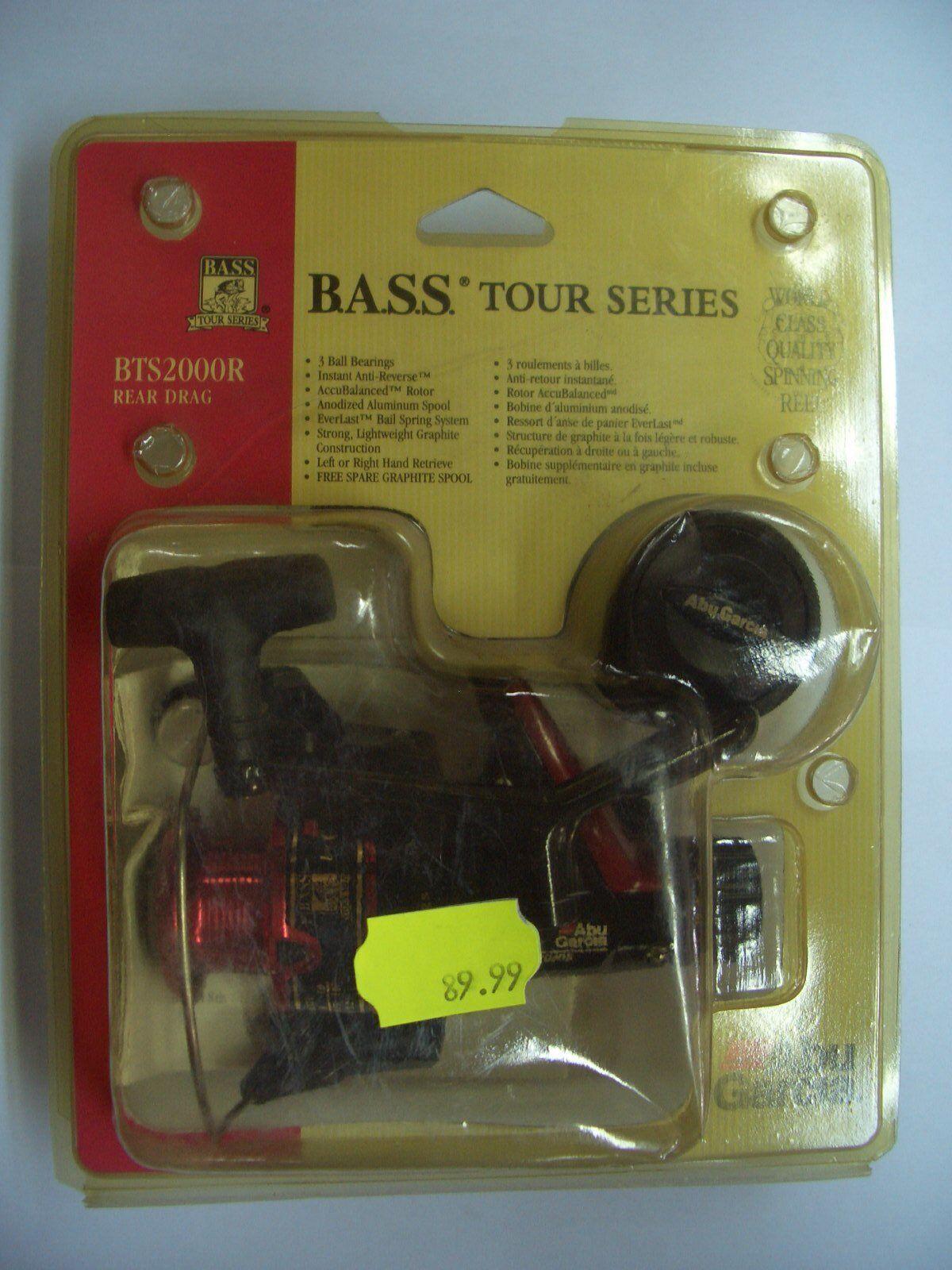 Abu Garcia BTS2000R BASS Tour Series neu ovp