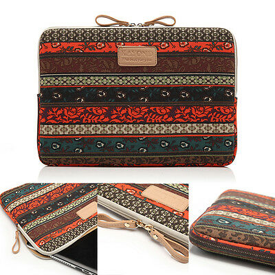 """Bohemian Laptop Bag Sleeves Notebook PC Pouch Macbook Case 11"""" 12"""" 14.1"""" 15.6"""""""