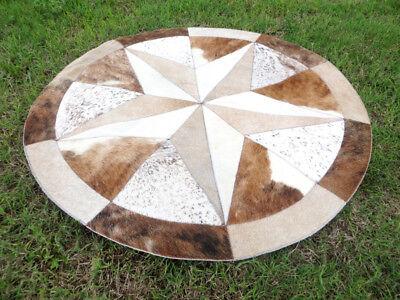Star Cowhide Rug Cow Hide Skin Carpet