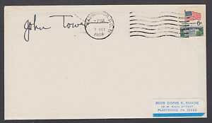 John Tower, US Senator from Texas, signed 1968 Cover