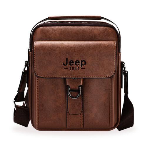 Man Messenger Bag Luxury Leather Men Shoulder Bags Handbag Crossbody Briefcase