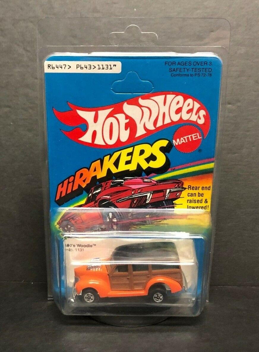 Años 40 Woodie 1979 Mattel hirakers Nº 1131  embalaje Hermoso
