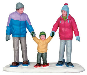Snowshoe-Family-Lemax-Christmas-Village