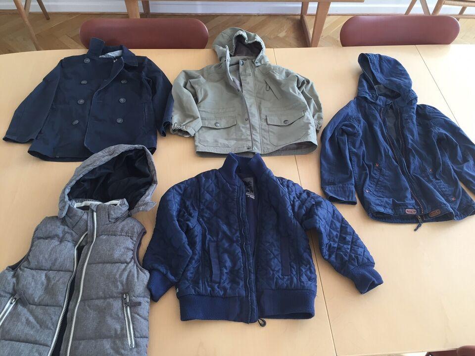 Blandet tøj, Overtøj, Bl