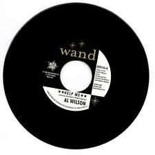 "AL WILSON Help Me / (Instr) NEW NORTHERN SOUL 45 (Outta Sight) 7"" Vinyl 60s Soul"