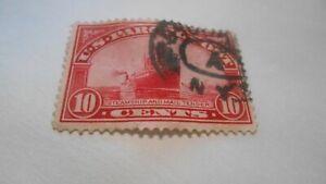 10-Cent-Stamp-US-Parcel-Post-1912-1913-Steamship-stamped-N-Y