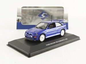 Ford-Escort-RS-Cosworth-1992-Blue-1-43-Solido