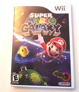 Super-Mario-Galaxy-Nintendo-Wii-Complete-Rare-Video-Game-tested-Mario-Bros