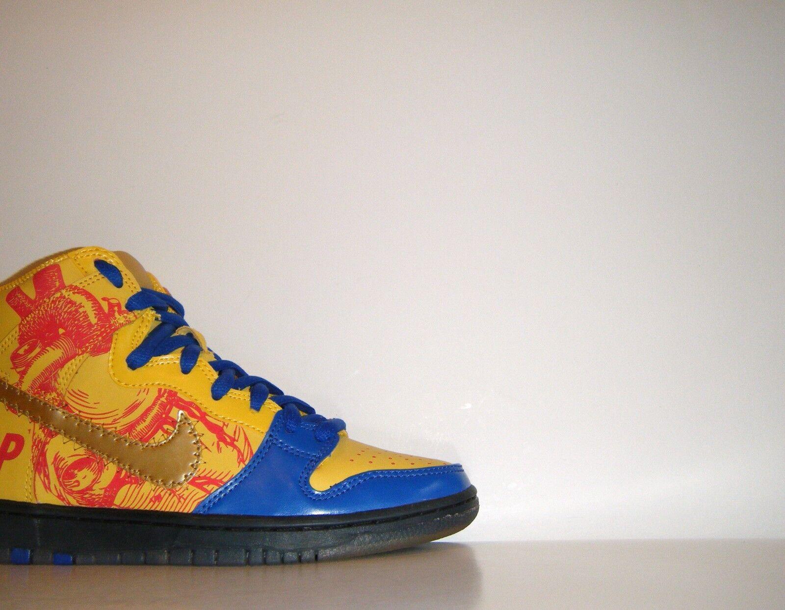 2012 Nike SB Dunk High Pro Premium Premium Pro DB Doernbecher Sz 7 Warriors Heart 579603-740 59e60c