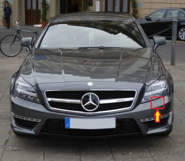 NEW GENUINE MERCEDES BENZ MB CLS CLASS W218 AMG HEADLIGHT WASH CAP LEFT SIDE N//S