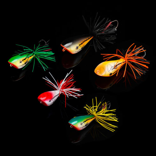 """Details about  /Hard Fishing Lure 9.5cm-3.7/""""//20g  Snakehead Frog Fishing Hook Tackle Bass Bait"""