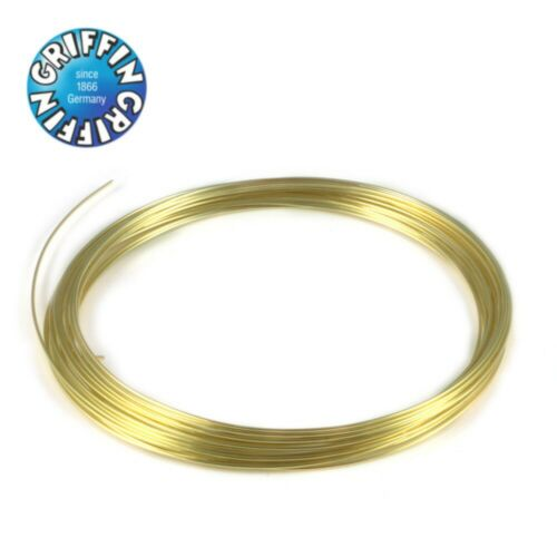 6m 0.8mm Griffin 24K Gold Plated Craft Wire Modelling