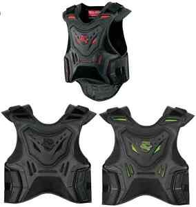 Icon Feild Armor Stryker Vest Motorcycle Sportbike Stunt Front Back Protection