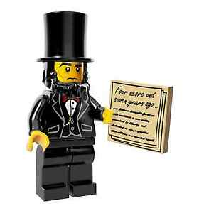 NEW-THE-LEGO-MOVIE-MINIFIGURES-71004-Abraham-Lincoln-Honest-Abe