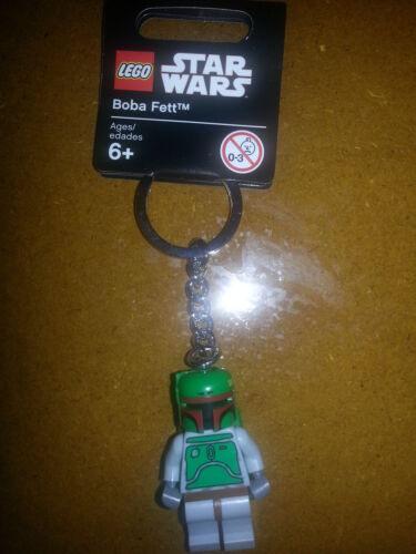 Star Wars Boba Fett Minifigure Keychain Keyring LEGO 851659