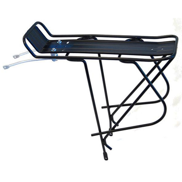 Tour Series Rear Bike Rack With Plate Basket Pannier Rack